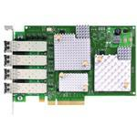 Network Adapter Low Profilee12004-m8 8GB Fibre Channel 4 Port Pci-e
