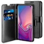 Samsung Galaxy S10e Case - Gel Wallet Case With Space For 3 Cards Black