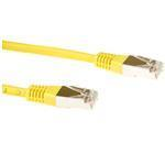 CAT6 Sstp Lszh Patch Cable Yellow