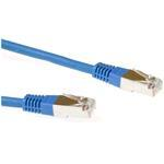 Patch Cable CAT6 S-ftp Lszh 3m Blue